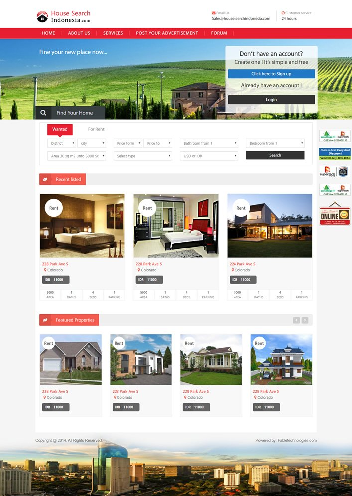 realestate-website-development-company