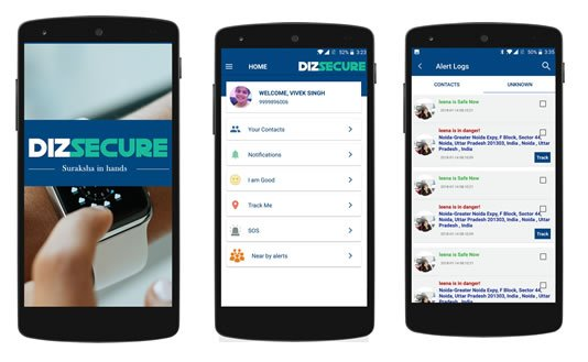 Dizsecure-ibeacon-based-security-app