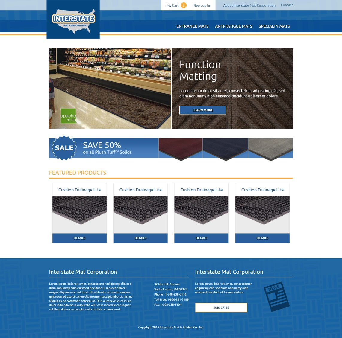 Floor-mats-ecommerce-website-1
