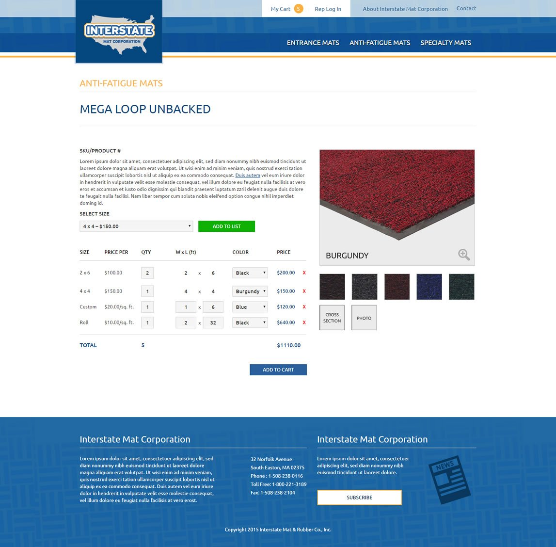 Floor-mats-ecommerce-website-3