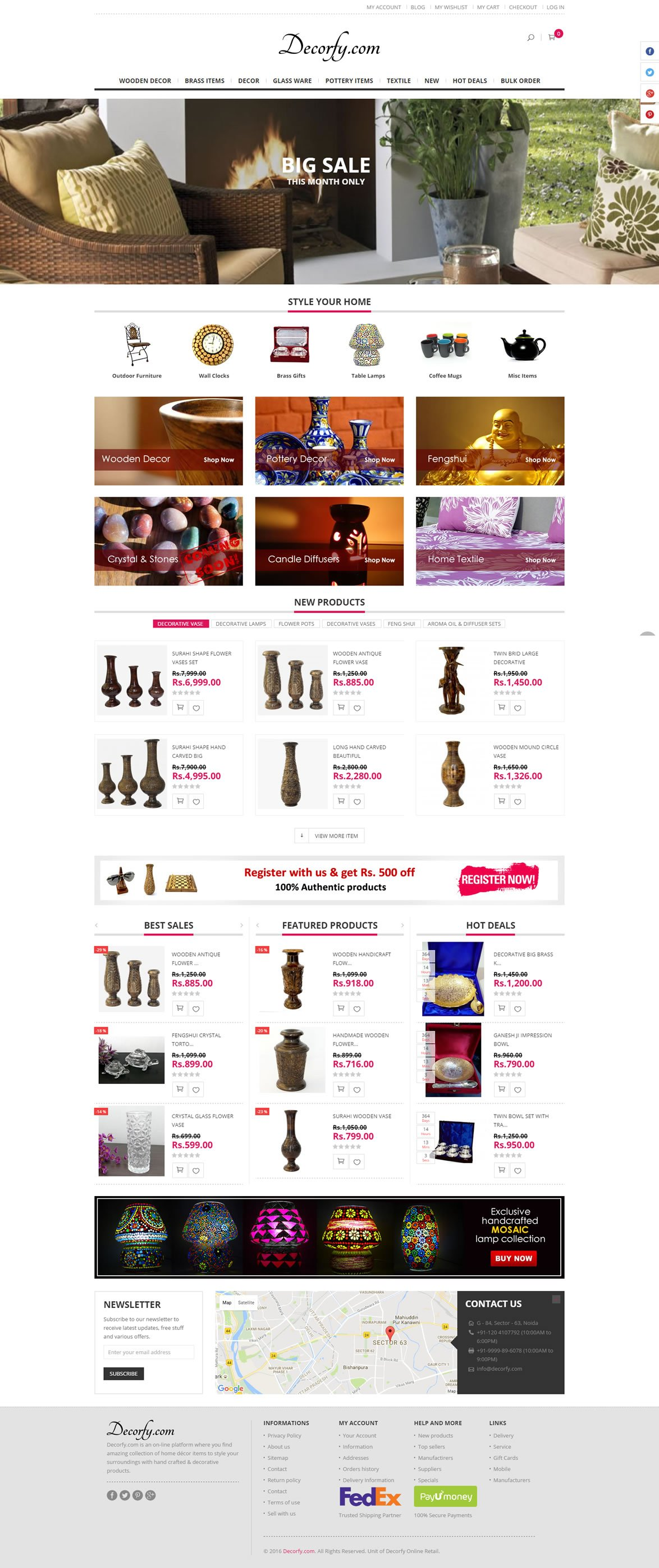 decorfy-ecommerce-website