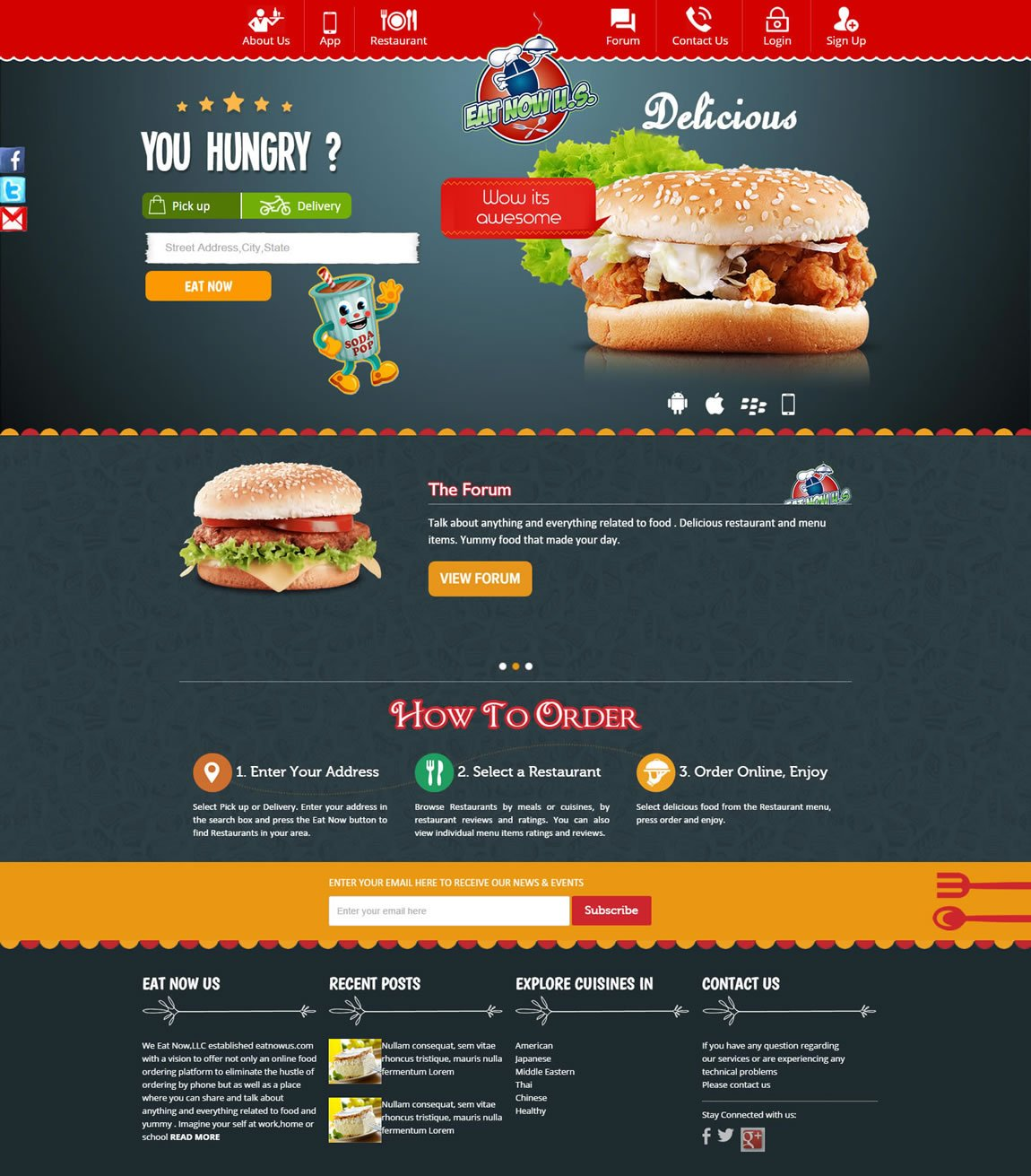 food-ordering-website-portal
