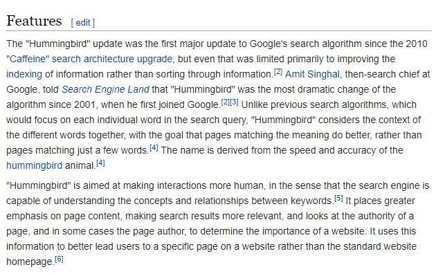 google-algorithim-change
