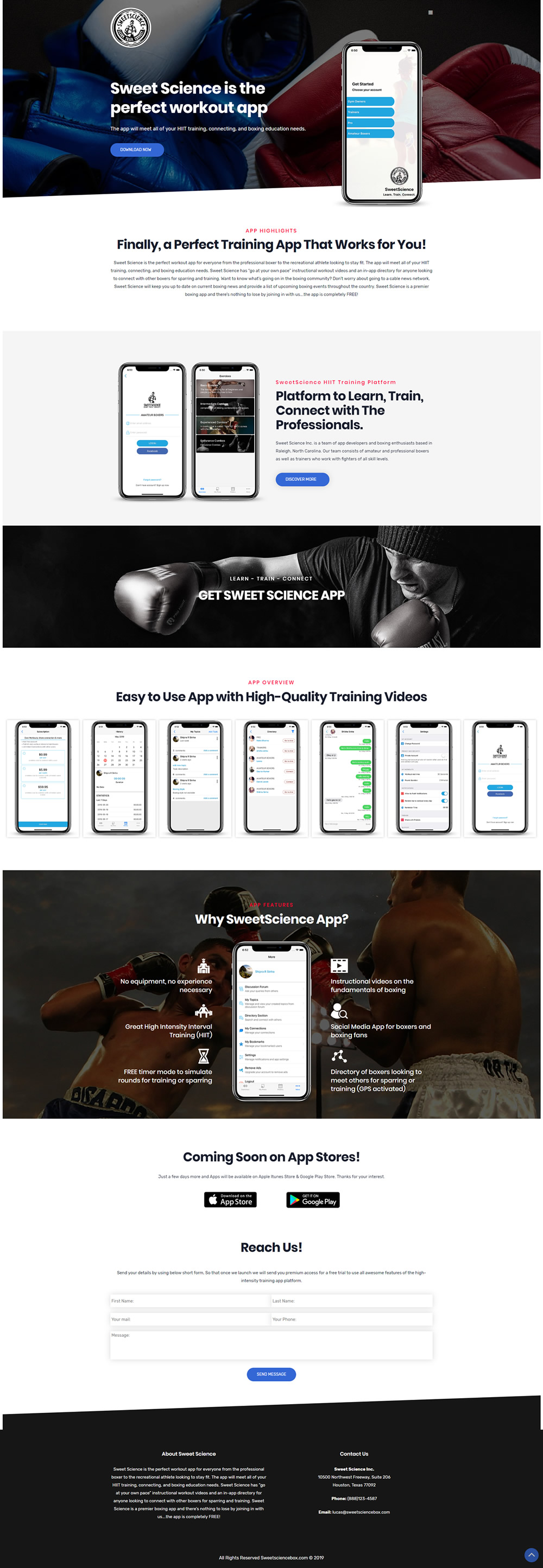website-designing-for-trainning-app